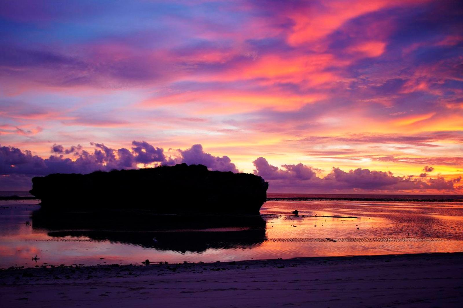 Rote Island Sunset